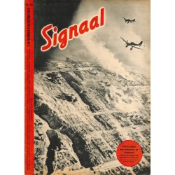 0968	-No.	 H	22-1942	 SIGNAAL / SIGNAL Holland Dutch - illustrated german magazine	Russia, soldiers, Wehrmacht, Stalingrad