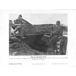 13825 WWII press photo print Alles zur Sprengung bereit Photo Hoffmann