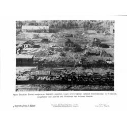 13827 WWII press photo print Wenn Stukas sowjetische Bahnhöfe angreifen Q0314, Photo Hoffmann