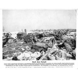 13833 WWII press photo print Nach dem Kampf Russia, 1942, Serie 1508c