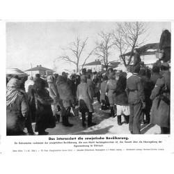 13834 WWII press photo print Das interessiert die sowjetische Bevölkerung Russia, 1942, Serie 1508a