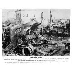 13836 WWII press photo print Chaos im Osten Russia 1942, Serie 1523b Pressefoto Aktueller Bilderdienst