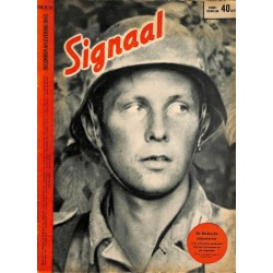 0969	-No.	 H	23/24-1942	 SIGNAAL / SIGNAL Holland Dutch - illustrated german magazine	Russia, soldiers, Wehrmacht, Stalingrad