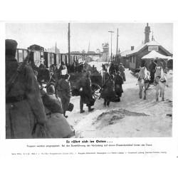 13839 WWII press photo print Es rührt sich im Osten Russia 1942, Serie 1506a