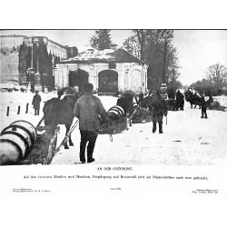 13853 WWII press photo print An der Ostfront Russia 1942 Presse-Bild-Zentrale