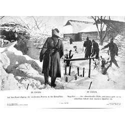 13855 WWII press photo print Im Osten Russia, 1941 Presse-Bild-Zeitung