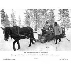 13856 WWII press photo print Bei unseren Fliegern am Polarkreis 1942 Presse-Bild-Zentrale