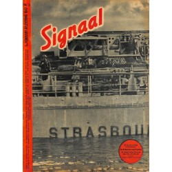 0970	-No.	 H	3-1943	 SIGNAAL / SIGNAL Holland Dutch - illustrated german magazine	U-Boot seamen soldiers Wehrmacht