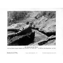 13861 WWII press photo print Der Kampf mit dem Wasser Photo Hoffmann