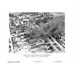 13862 WWII press photo print Noch nach der Einnahme von Woronesch Russia, Photo Hoffmann