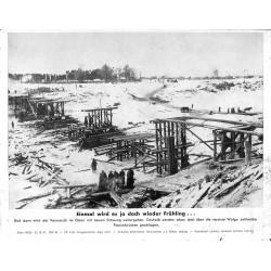 13869 WWII press photo print Einmal wird ja doch wieder Frühling Russia 1941, Serie 1493d