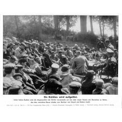 13874 WWII press photo print Ein Kolchos wird aufgelöst Russia 1942, Serie 1527c