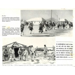 13875 WWII press photo print In endlosen Ketten ziehen deutsche Grenadiere Russia 1943, Serie 1554b