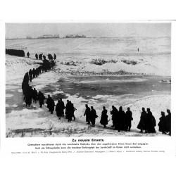 13880 WWII press photo print Zu neuem Einsatz Russia 1942, Serie 1543c