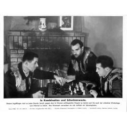 13881 WWII press photo print In Kombination und Schwimmwesten Luftwaffe 1943, Serie 1548d