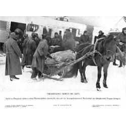 13883 WWII press photo print Versorgung durch die Luft  Russia, Photo Hoffmann