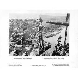 13886 WWII press photo print Stellungsbau an der Murmanfront Russia Photo Hoffmann