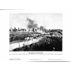 13889 WWII press photo print Die Brücke als Panzerfalle Russia Photo Hoffmann
