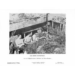 13894 WWII press photo print Das erste Sonnenbad Russia Photo Hoffmann