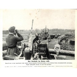 13896	 WWII press photo print	 Der Verkehr im Osten rollt	 Russia 1942, Serie 1537c