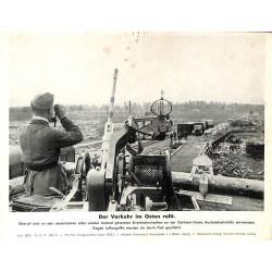 13896 WWII press photo print Der Verkehr im Osten rollt Russia 1942, Serie 1537c