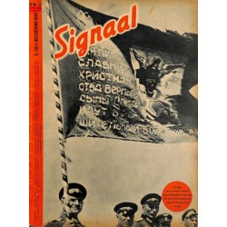 0972	-No.	 H	14-1943	 SIGNAAL / SIGNAL Holland Dutch - illustrated german magazine	Wehrmacht Cossacks, Russia