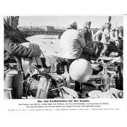 13898 WWII press photo print Das sind Kostbarkeiten bei den Sowjets Russia 1942, Serie 1538b