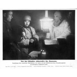 13900 WWII press photo print Von den Kämpfen südostwärts des Ilmensees Russia 1943, Serie 1552a