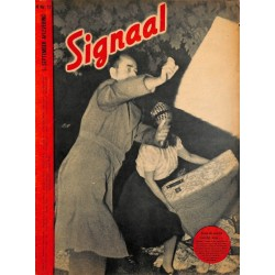 0973	 Incomplete-No.	 H	17-1943	 SIGNAAL / SIGNAL Holland Dutch - illustrated german magazine	Wehrmacht Nebelwerfer