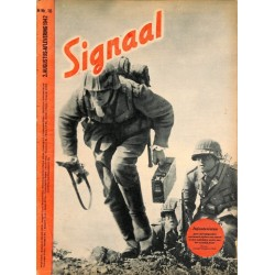 0977	-No.	 H	16-1942	 SIGNAAL / SIGNAL Holland Dutch - illustrated german magazine	soldiers, Wehrmacht, tanks Russia