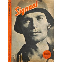 0979	-No.	 H	18-1943	 SIGNAAL / SIGNAL Holland Dutch - illustrated german magazine	Russia, paratrooper Fallschirmjager