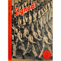 0983	-No.	 H	4-1944	 SIGNAAL / SIGNAL Holland Dutch - illustrated german magazine	tanks, half tracks, mustering new sodliers