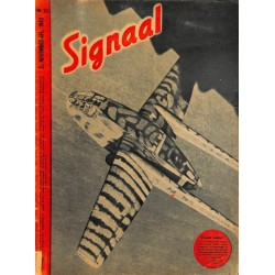 0987	 Incomplete-No.	 H	22-1943	 SIGNAAL / SIGNAL Holland Dutch - illustrated german magazine	Wehrmacht, tanks