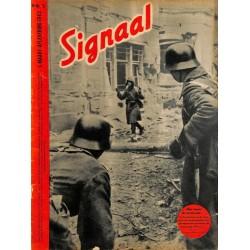 0989-No. H5-1942 SIGNAAL / SIGNAL Holland Dutch - illustrated german magazineWehrmacht winter, Russia