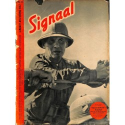 0991	-No.	 H	6-1942	 SIGNAAL / SIGNAL Holland Dutch - illustrated german magazine	Rommel Desert Fox Wehrmacht Africa DAK
