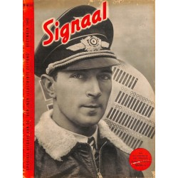 0994	-No.	 H	17-1940	 SIGNAAL / SIGNAL Holland Dutch - illustrated german magazine	Mölders Ace, Duce Mussolini Hitler Artillery