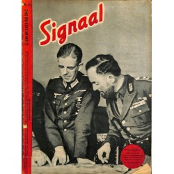 1000	-No.	 H	12-1942	 SIGNAAL / SIGNAL Holland Dutch - illustrated german magazine	Atlantic, Wehrmacht, Africa DAK