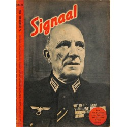 1002	-No.	 H	20-1943	 SIGNAAL / SIGNAL Holland Dutch - illustrated german magazine	Iron Cross Legion Nebelwerfer Eighty Eight