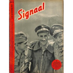 1003	-No.	 H	13-1942	 SIGNAAL / SIGNAL Holland Dutch - illustrated german magazine	italina pilots, Eighty Eight, binoculars