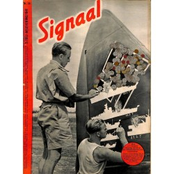 1005	-No.	 H	14-1941	 SIGNAAL / SIGNAL Holland Dutch - illustrated german magazine	WWII Waffen-SS  many photos