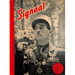 1084	-No.	 H	16-1943	SIGNAAL / SIGNAL Holland Dutch - illustrated german magazine	Wehrmacht WWII soldiers, many photos