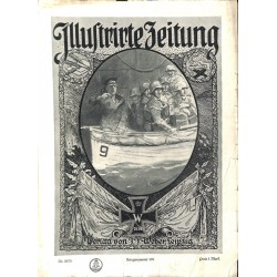 1144	 ILLUSTRIRTE ZEITUNG	 No.  	3879	 Kriegsnummer 		- 1.November 1917		, size: 42, x 30,5 cm 	WWI, war reports, nice picture
