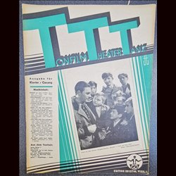 15210	 TTT - Tonfilm Theater Tanz	 No. 4-1938