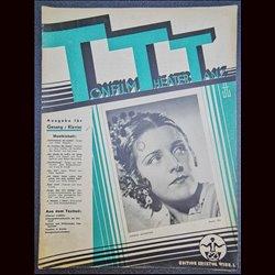 15213 TTT - Tonfilm Theater Tanz No. 8-1939