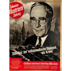 1252 SCHWEIZER ILLUSTRIERTE ZEITUNG  No. 12-1943 WWII Switzerland magazine Standley diplomat Russia Kreml Kursk Rostov