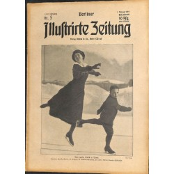 1273 preWWI-No. 5-1914 BERLINER ILLUSTRIRTE ZEITUNG German illustrated magazineFebruary 1 1914