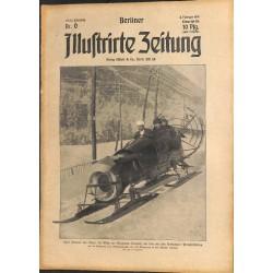 1274 preWWI-No. 6-1914 BERLINER ILLUSTRIRTE ZEITUNG German illustrated magazineFebruary 8 1914