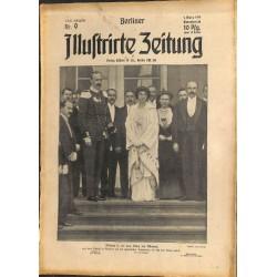 1277 preWWI-No. 9-1914 BERLINER ILLUSTRIRTE ZEITUNG German illustrated magazineMarch 1 1914