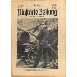 1278 preWWI-No. 10-1914 BERLINER ILLUSTRIRTE ZEITUNG German illustrated magazineMarch 8 1914