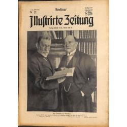 1279 preWWI-No. 11-1914 BERLINER ILLUSTRIRTE ZEITUNG German illustrated magazineMarch 15 1914